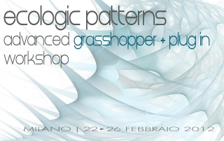 Ecologic Patterns Milano 2012