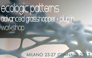 Ecologic Patterns Gennaio 2013