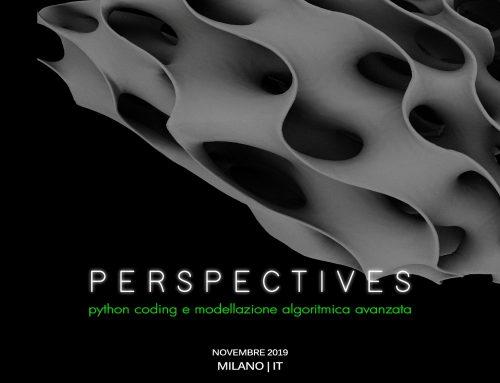 PERSPECTIVES | Livello Avanzato | Milano 29 Novembre-1 Dicembre 2019