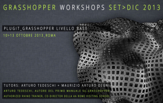 Grasshopper Workshop Roma Ottobre 2013