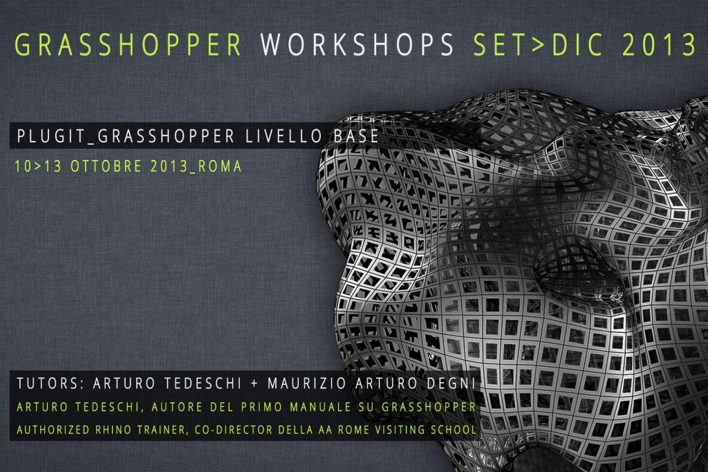 Grasshopper Workshop Roma Ottobre 2013