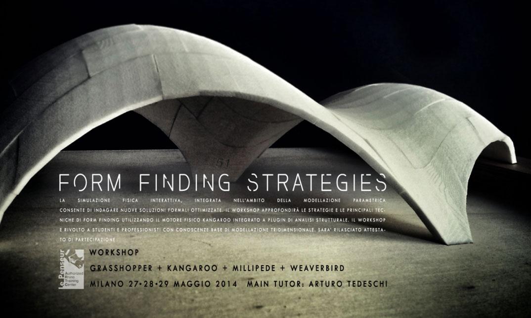 Form Finding Milano May 2014