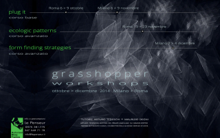 Workshops grasshopper autunno 2014