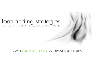 Form Finding Strategies | Milano 30 Novembre – 2 Dicembre 2018