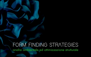 Form Finding Strategies | Milano 7-10 Novembre 2019