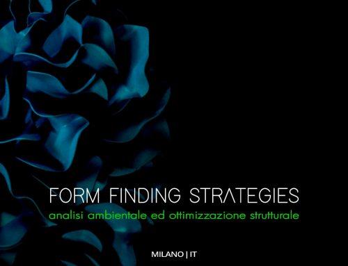 Form Finding Strategies | Milano 29-31 Ottobre 2020 (date originarie 14-17 Maggio 2020)