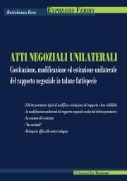 Atti Negoziali Unilaterali