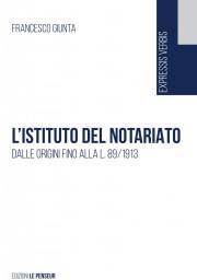 L'istituto del notariato